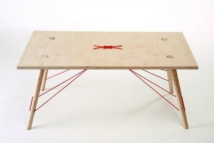 red rope table (itay.designgroup.co.il)