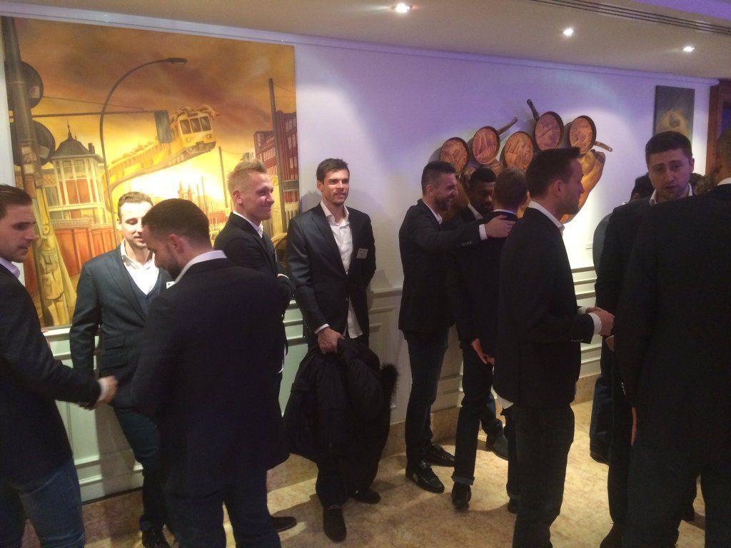 VIP-Empfang der Herthaner im Hotel Palace mit Freunden Partnern und Unterstützern! #hahohe https://t.co/8kC661dyln