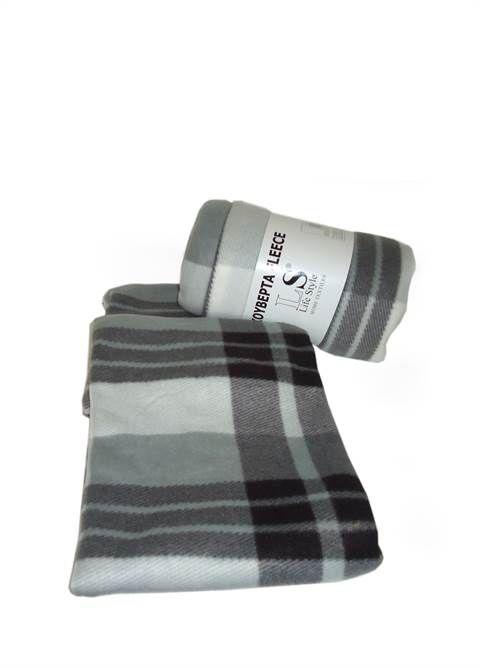 bff3faa575 Σετ 2 Κουβέρτες μαύρο καρό