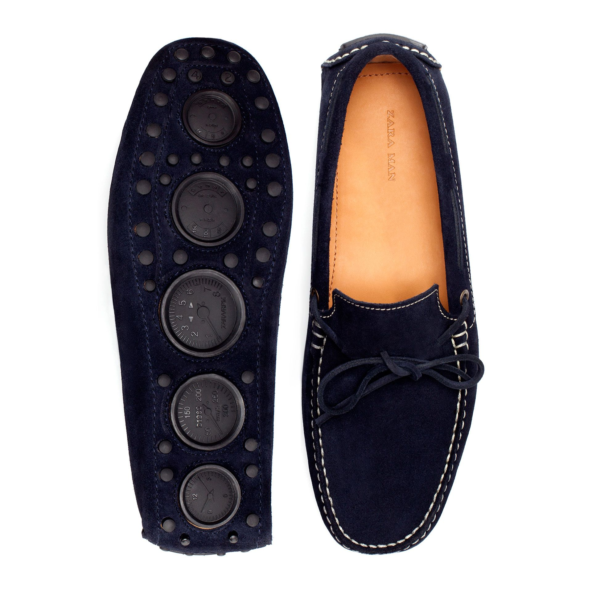 DRIVING MOCASSIN WITH BOW Moccasins Shoes Man ZARA