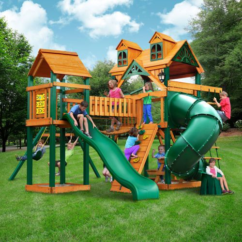 gorilla playsets wilderness gym playset do it yourself outside play pinterest backyard. Black Bedroom Furniture Sets. Home Design Ideas