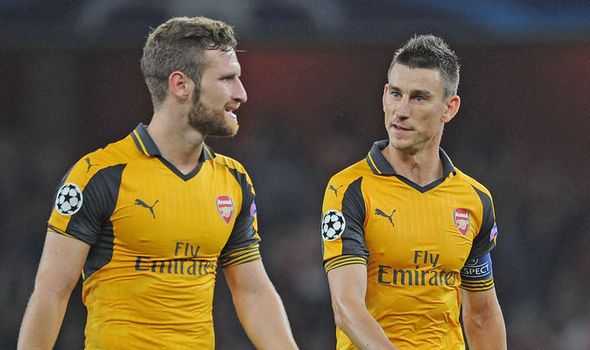 Thierry Henry This is what Shkodran Mustafi and Laurent Koscielny - best of epl table