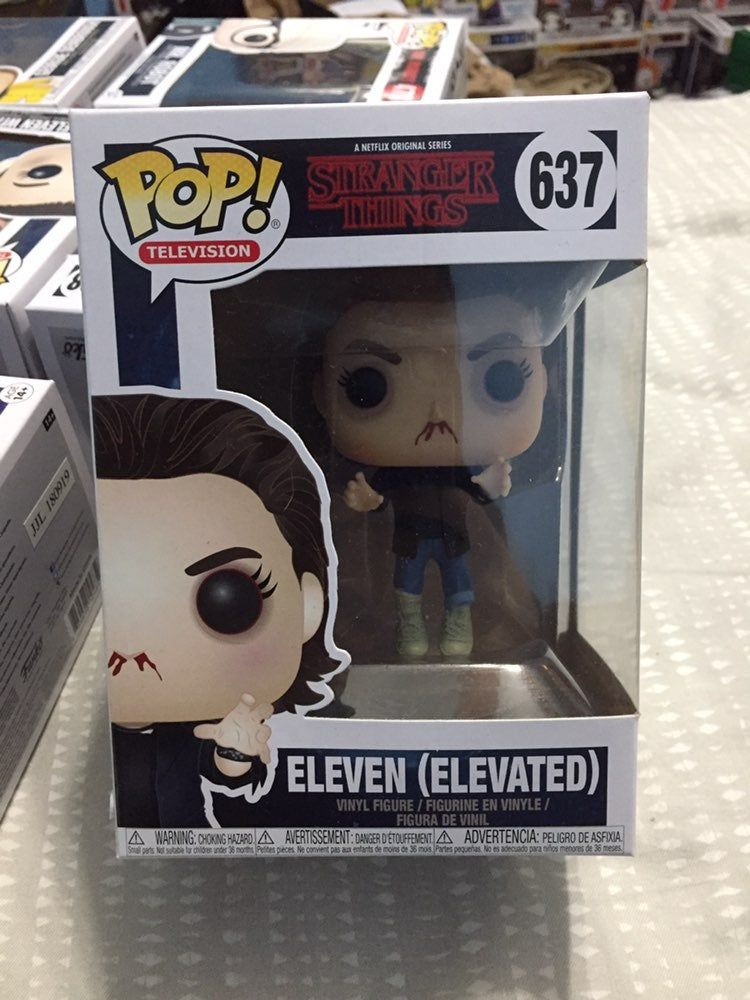 Eleven Elevated Funko Pop From Stranger Things Please See