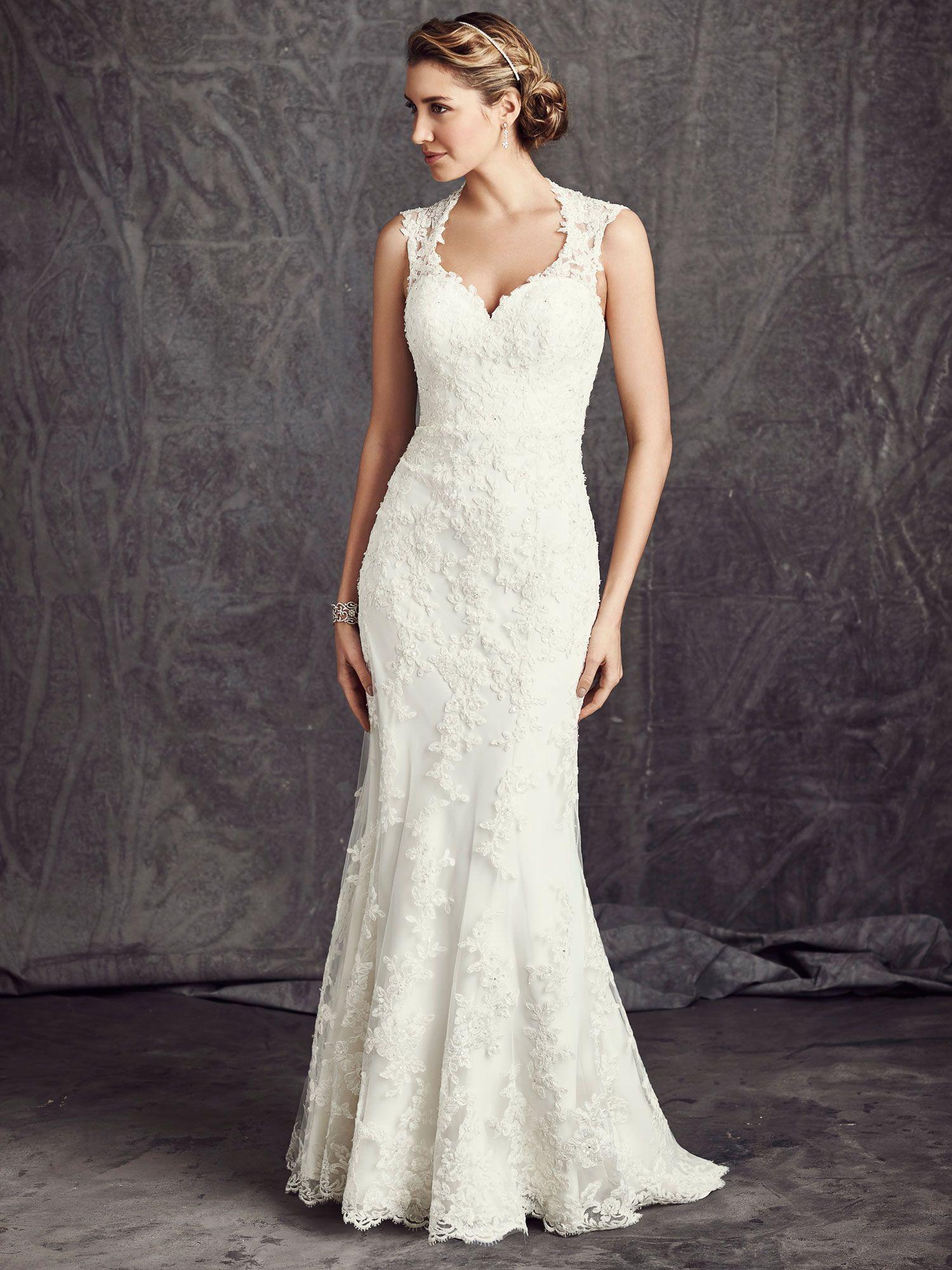 One strap wedding dress  Alexis Kay Designs Bridal  E Lincoln Hwy Dekalb IL Ella Rosa