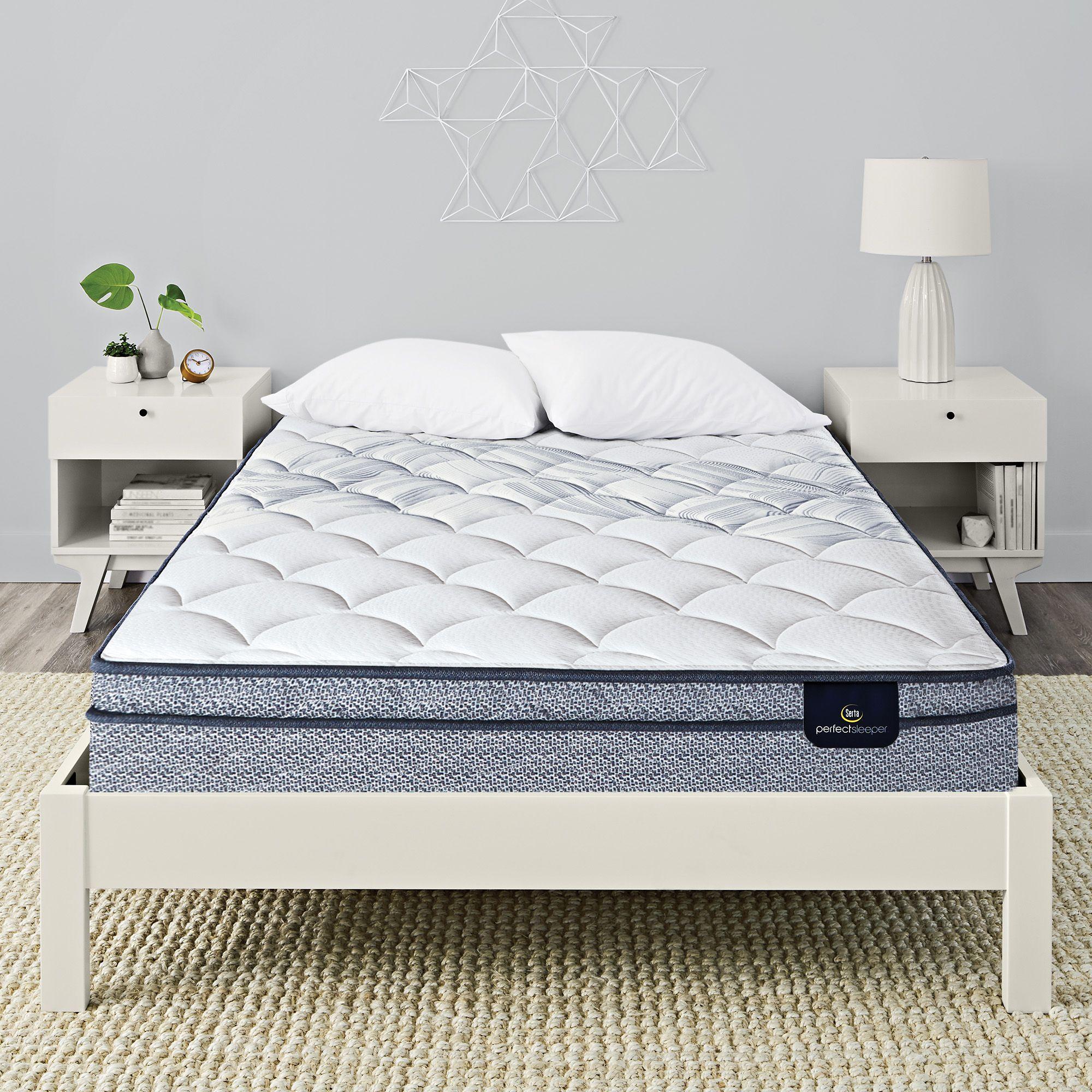 Enjoy Restful Sleep Atop This Serta Perfect Sleeper Harlington Iii