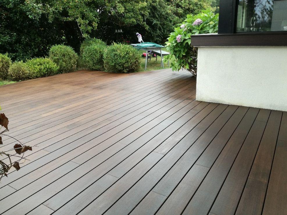 Vente Pose D Une Terrasse En Bambou Densifie Moso Bamboo X Treme Comprenant L Habillage De Marches Et D Un Appui Pose Parquet Appui De Fenetre Terrasse Bois