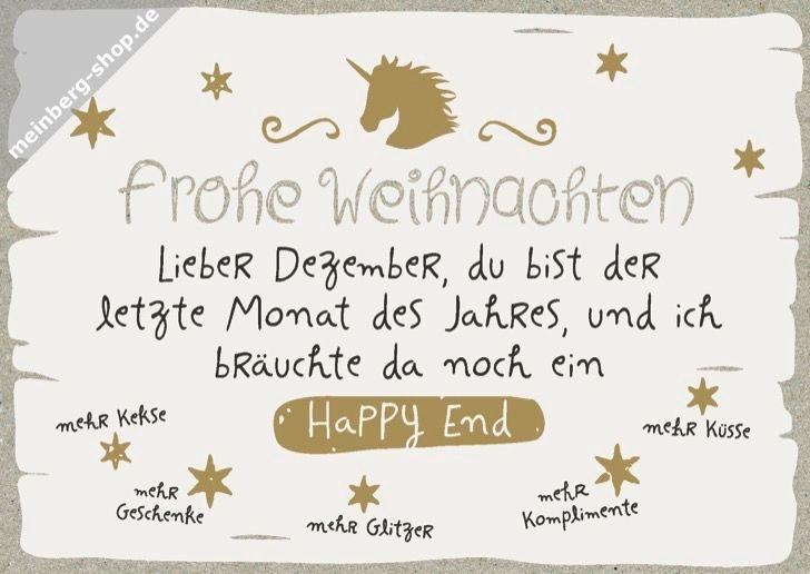 Frohe Weihnachten Glitzer.Frohe Weihnachten Lieber Dezember Du Bist Der Letzte Monat