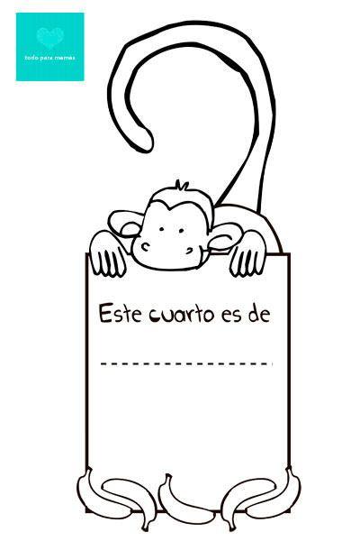 Carteles Para La Puerta Personalizables Manualidades Manualidades Para Ninos Dia Del Nino