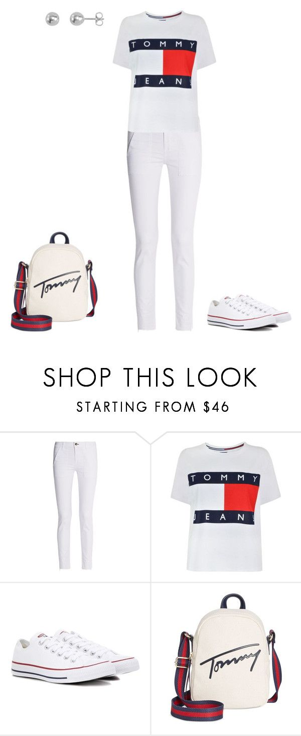 """Untitled #214"" by daisypoet ❤ liked on Polyvore featuring rag & bone, Tommy Hilfiger and Converse"