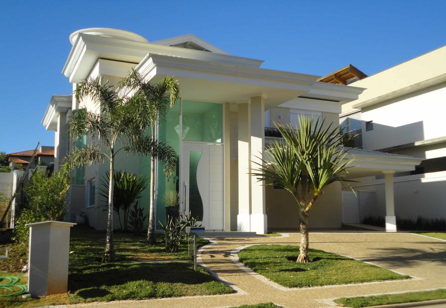 40 fachadas de casas modernas e esculturais maravilhosas for Fachadas de casas ultramodernas