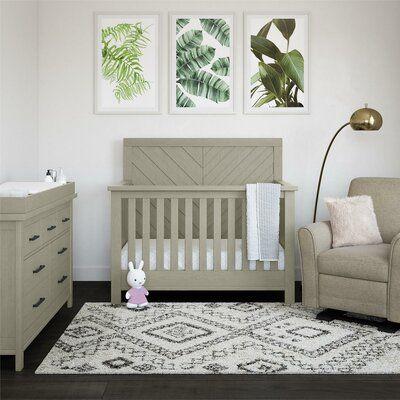 Bertini Canyon 5 In 1 Standard Convertible Crib In 2020 Nursery