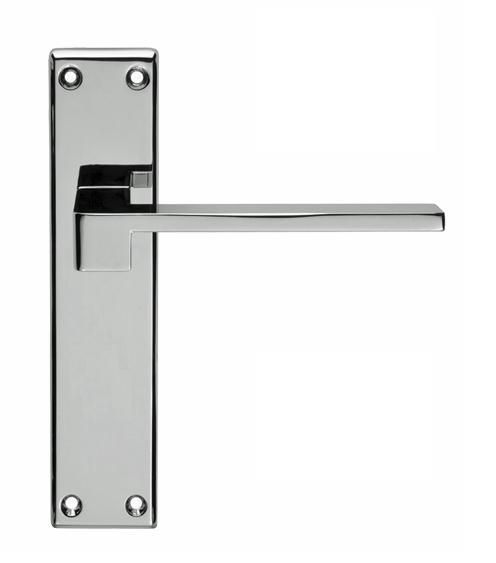 Bathroom Doors Handles equi lever door handles on backplate - latch, lock or bathroom