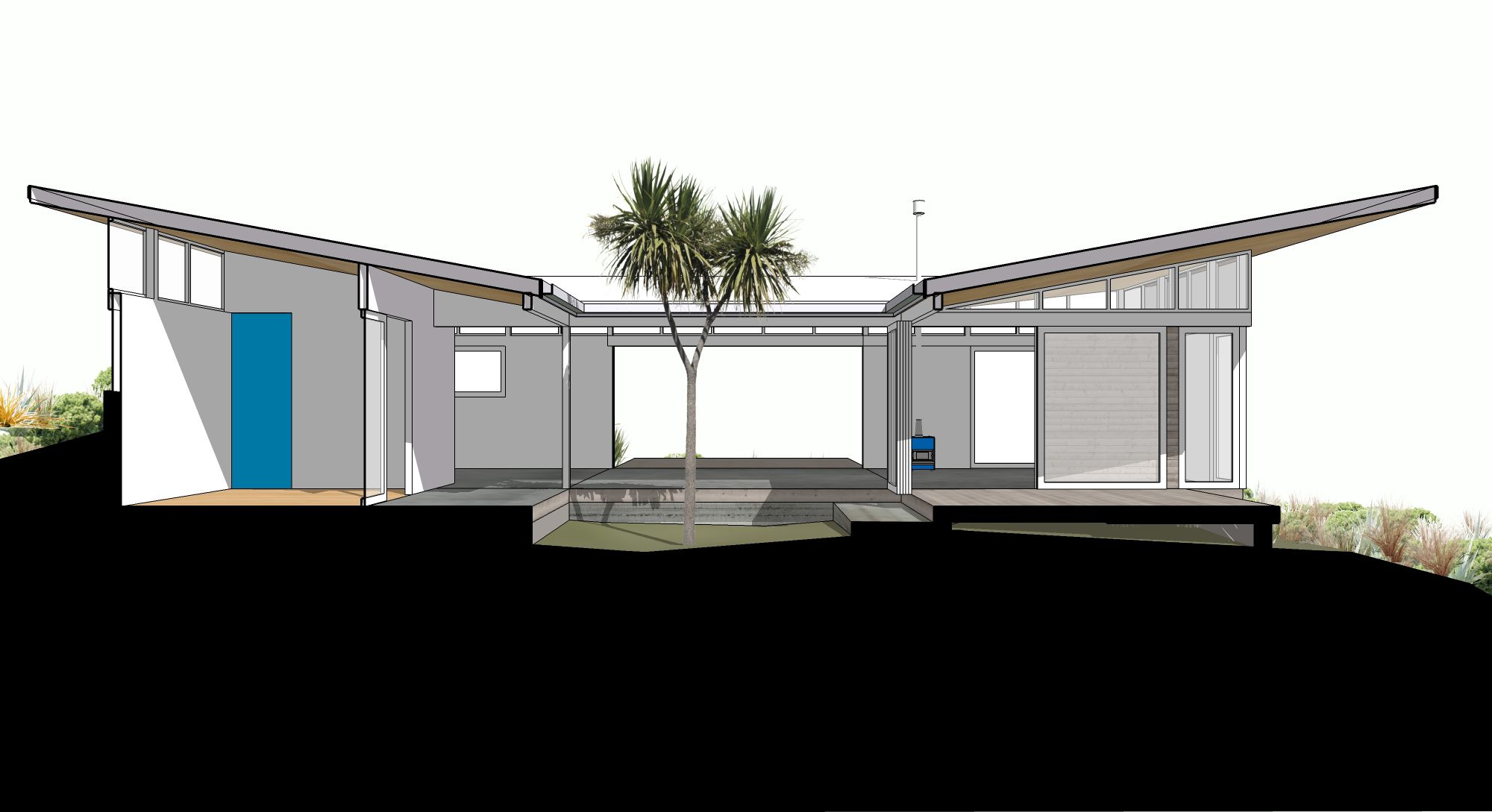 Te Horo houses - PATCH WORK ARCHITECTURE