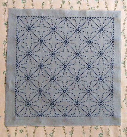 Tuto Complet Broderie Boro Et Sashiko Sashiko Embroidery