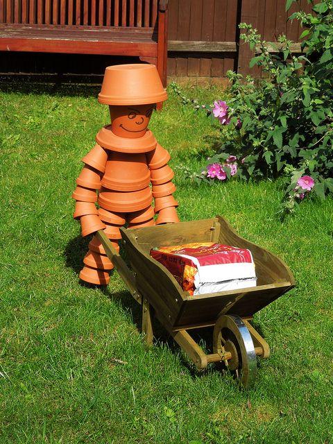 Flower Pot Man! #flowerpot
