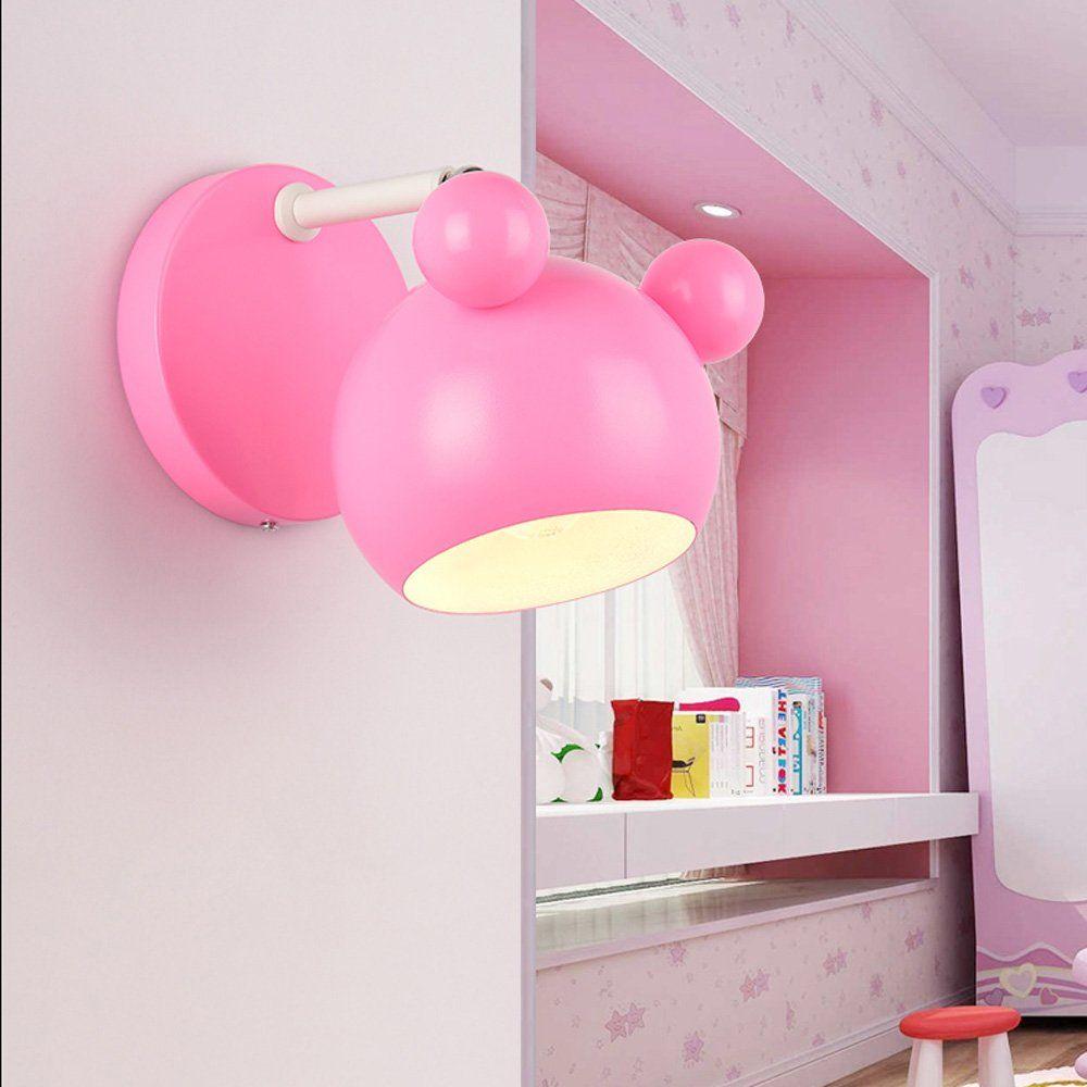 Süße Wandlampe in rosa. Perfekt für ein Prinzessin