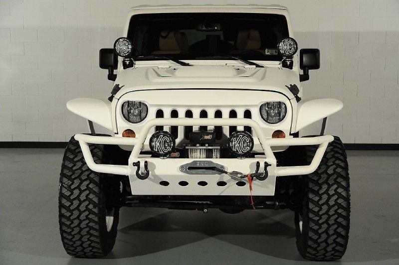 Custom Front Bumper Of 2013 Jeep Wrangler Unlimited