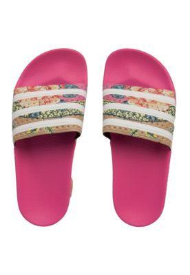 a695943711 Chinelo ADIDAS Originals Adilette W Rosa Branco Mais Chinelo Slide Feminino  Adidas