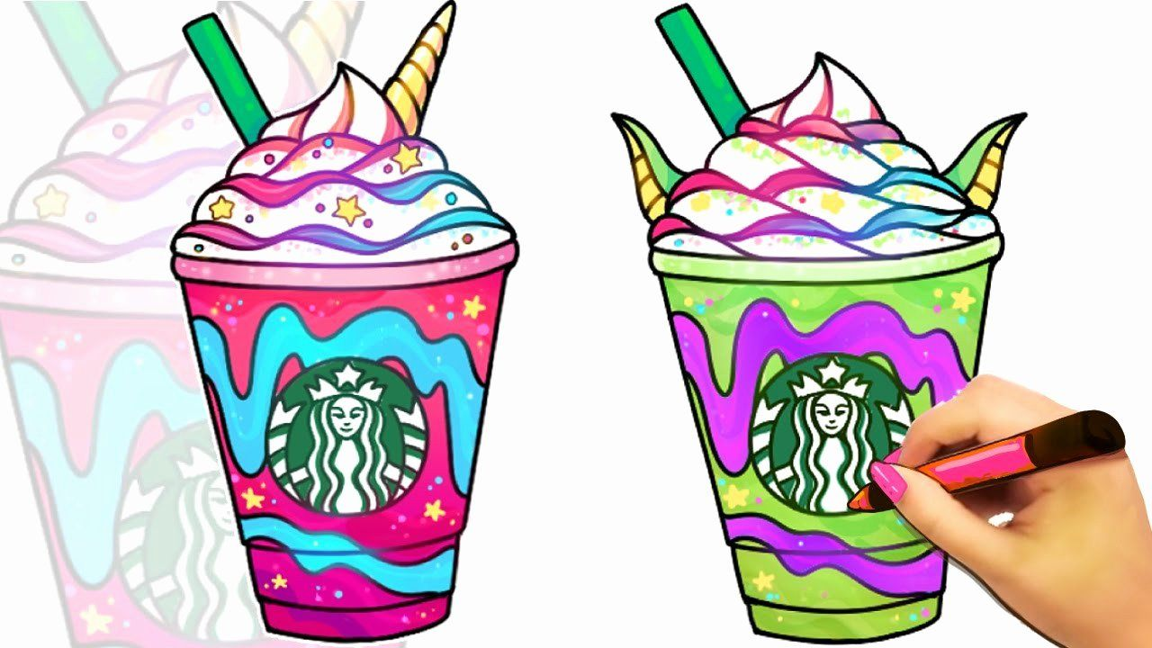 Cute Starbucks Coloring Pages Best Of 50 How To Draw A Starbucks Coffee Ow2p Layoutimb Starbucks Drawing Clip Art Starbucks