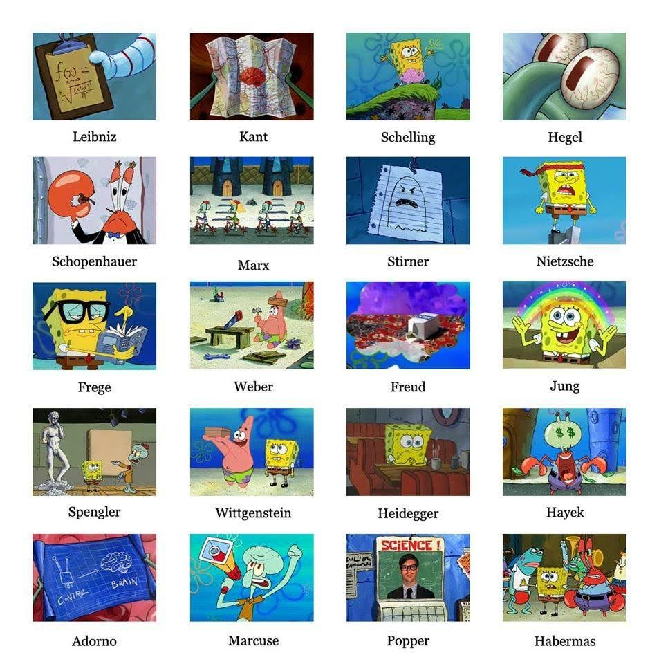 Spongebob And Philosophy Philosophy Memes Philosophy Humor