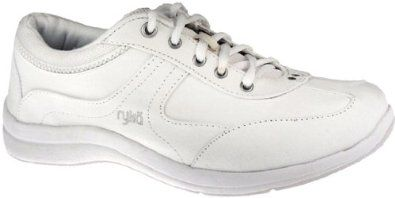 7d1730163ec58 Ryka Womens Liberty Lace-Up Canvas Lo White/Dove Canvas Walking 9 ...