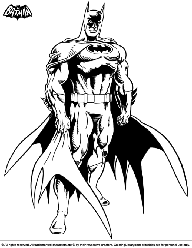 superman penguin coloring pages - photo#21