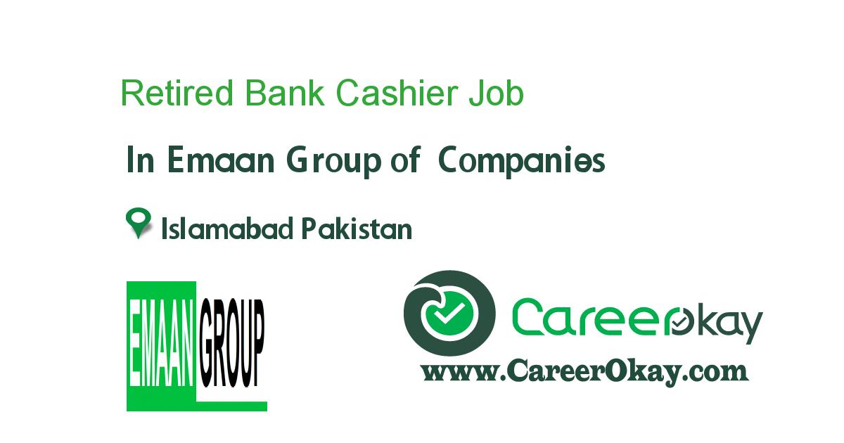 Retired Bank Cashier Jobs In Pakistan Jobs In Pakistan Group Of