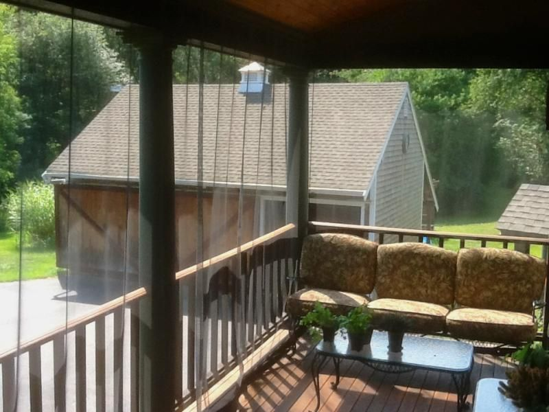 Outdoor Porch Mosquito Curtains Easy Install See