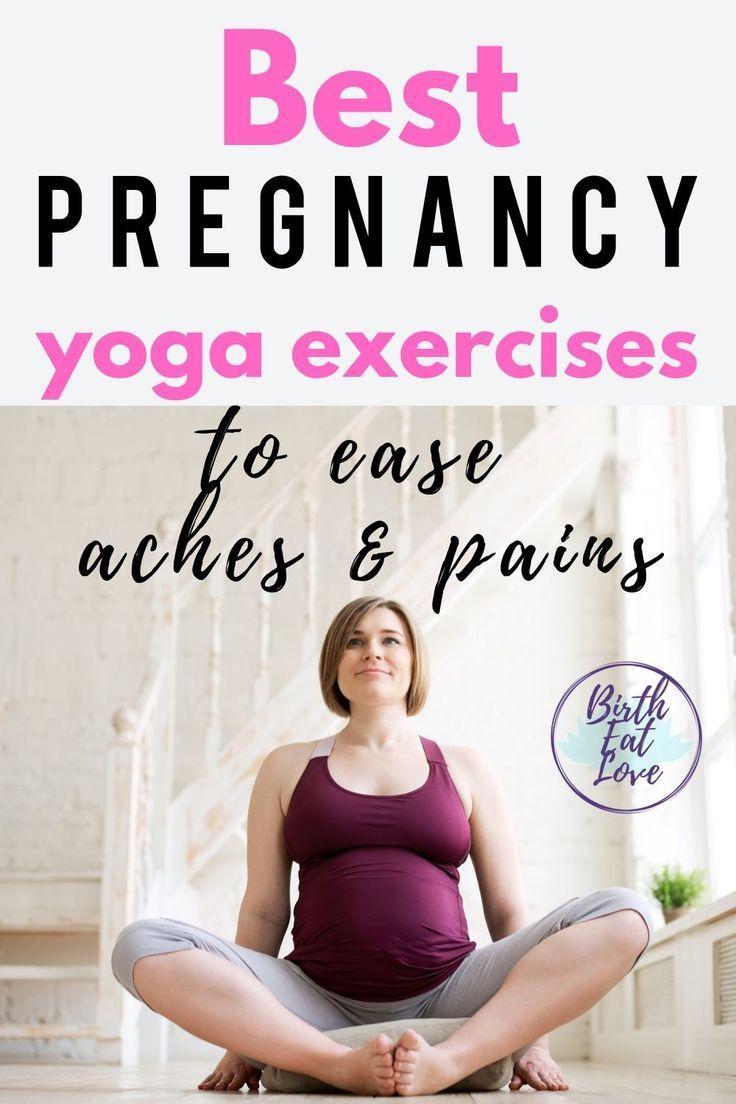 Pin on Pregnancy Yoga