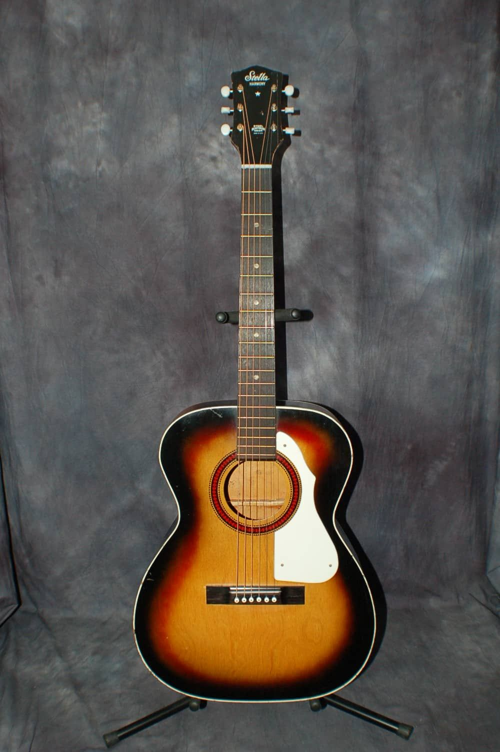 1968 Harmony Stella Model H942 Concert Size Pro Setup Original Case Lawman Guitars Reverb The Originals Really Cool Stuff Cool Guitar