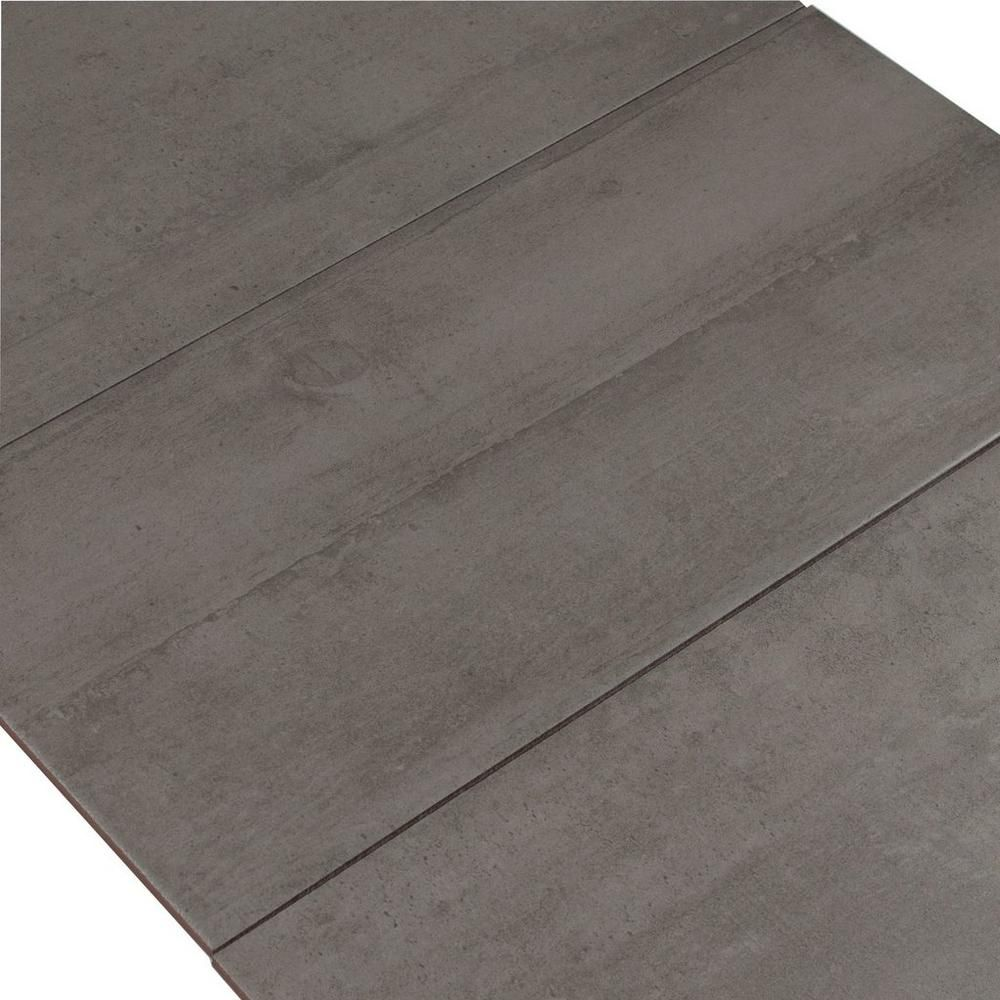 Concrete gray ceramic tile concrete mudroom and laundry concrete gray ceramic tile 12in x 24in 100136795 floor and decor dailygadgetfo Choice Image