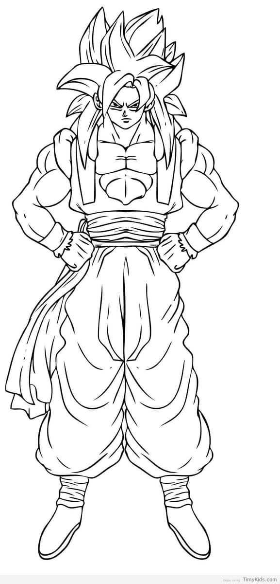 96 Colouring Pages Dragon Ball , Free HD Download