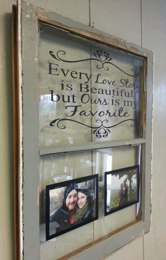 Window Frame Ideas Decorating Antique Decor Old Wooden Share ...