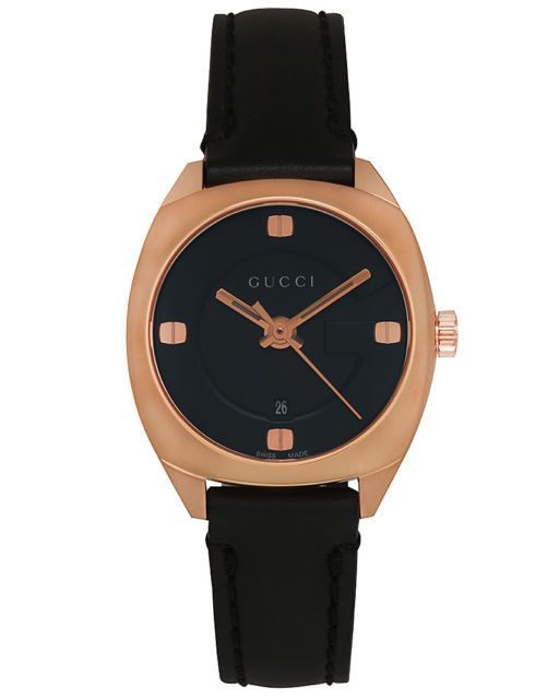 23eed42fcb7 Gucci GG2570 Pink Gold Plated Stainless Steel Quartz Ladies Watch YA142509  – ebay Daily Deals