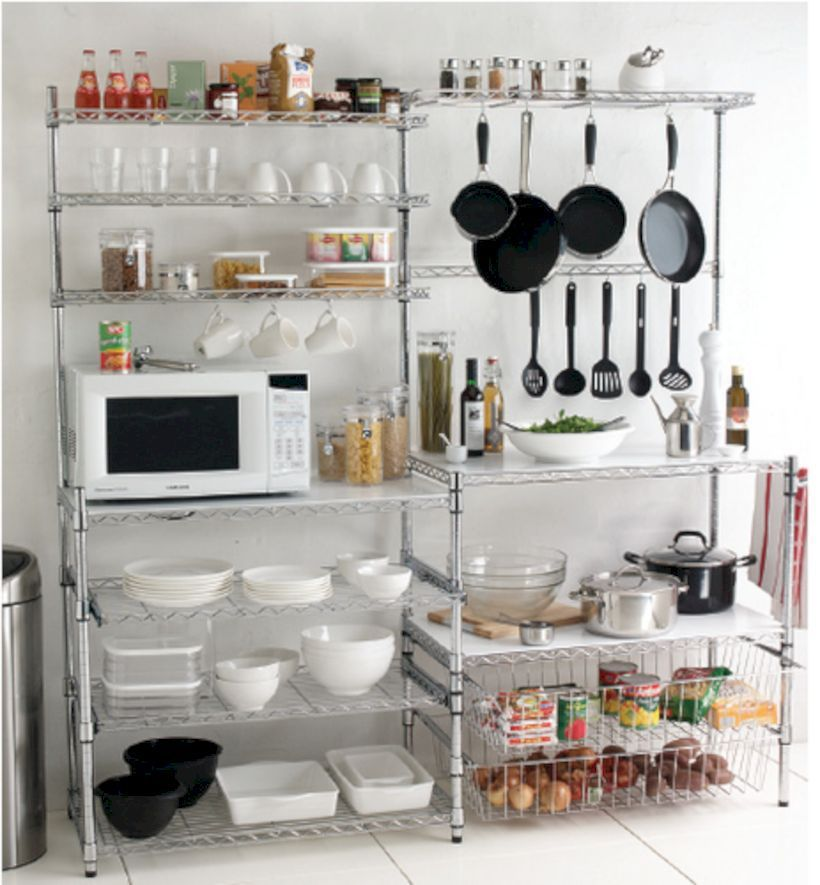 55 Amazing Stand Alone Kitchen Pantry Design Ideas Roundecor