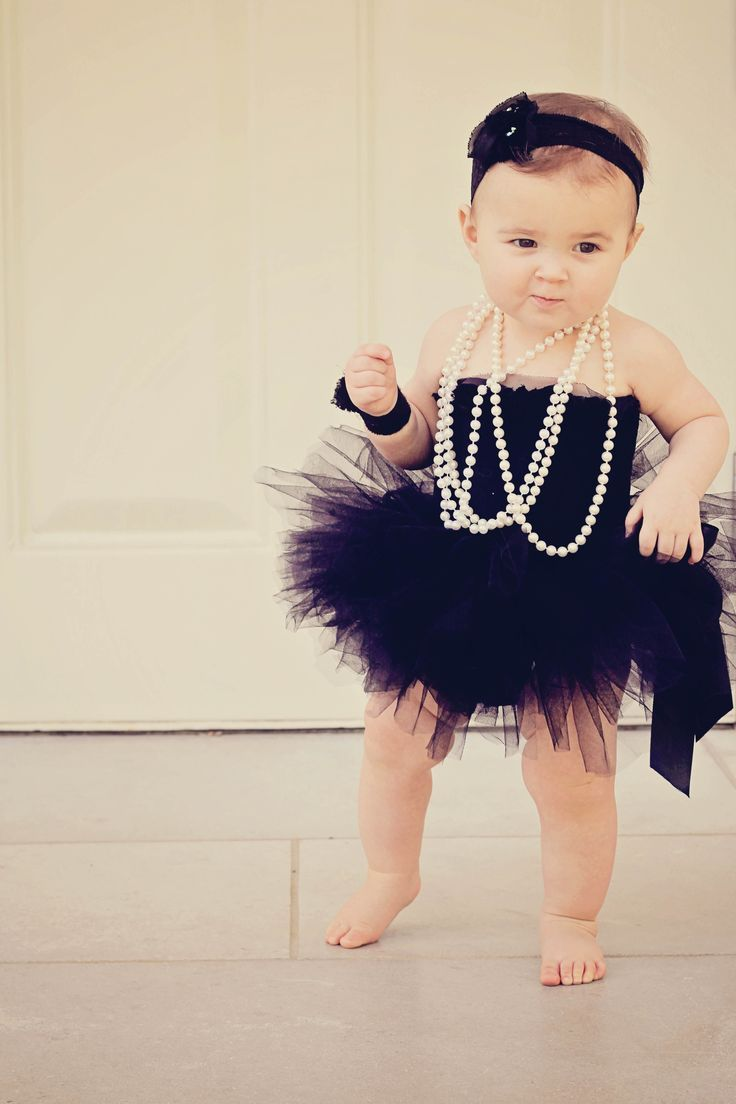 infants in pearls Google Search Baby girl clothes