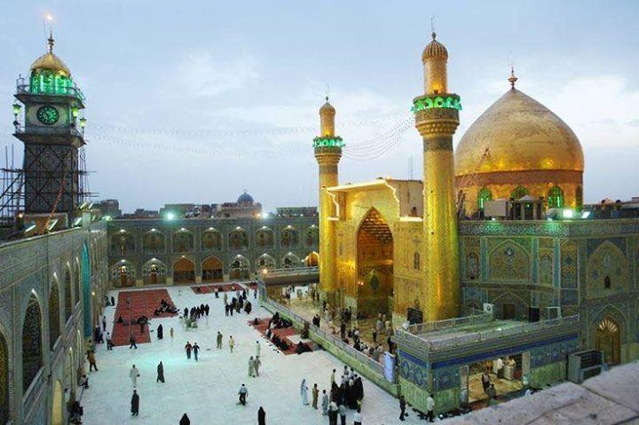 Maula Ali Shrine Wallpaper: Imam Ali Mosque/Shrine Of Imam Ali Najaf Iraq