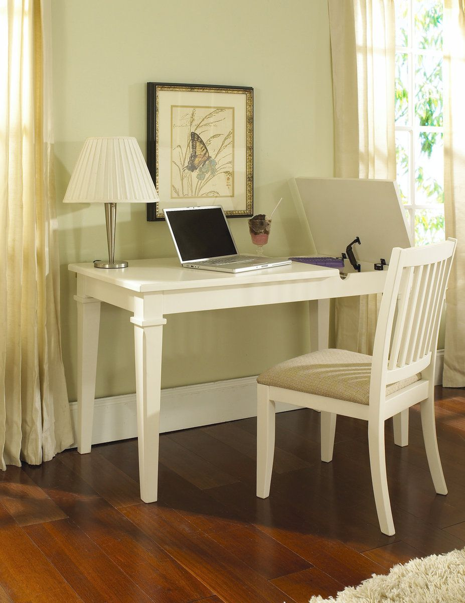 Winter Park White Desk w/Chair RH-8110-414-452