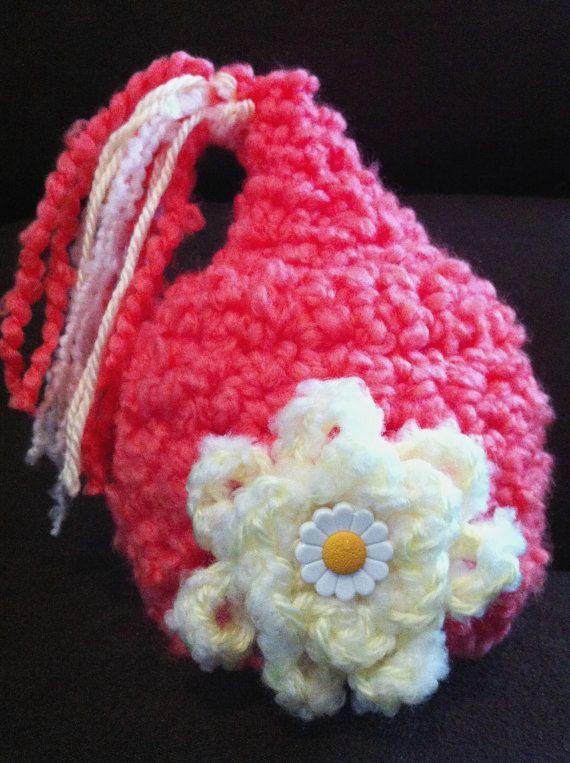Mango Flower newborn pixie hat on Etsy, $14.00