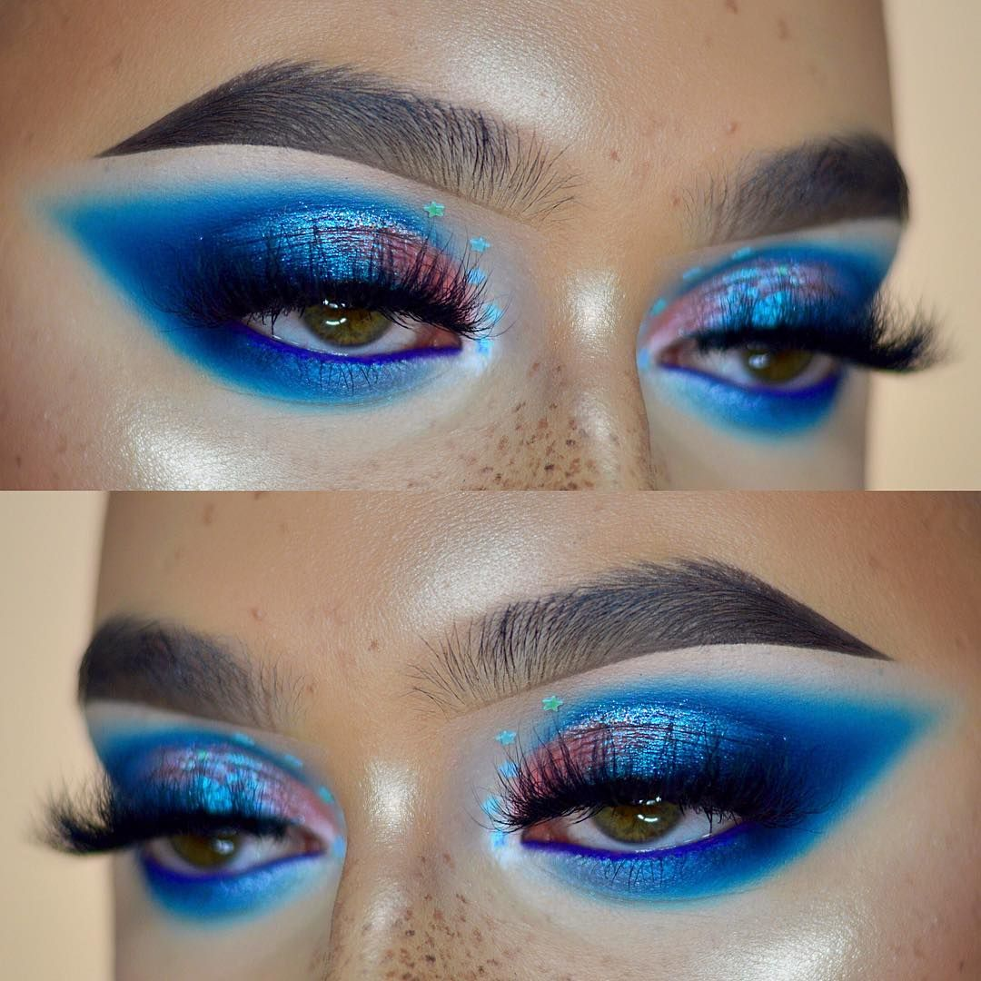 Michał Gorywoda on Instagram Eye makeup, Blue eye