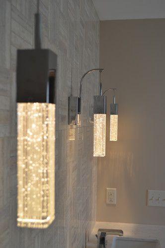 Beautiful Bedroom Or Bathroom Lighting Fizz Iii Shimmering