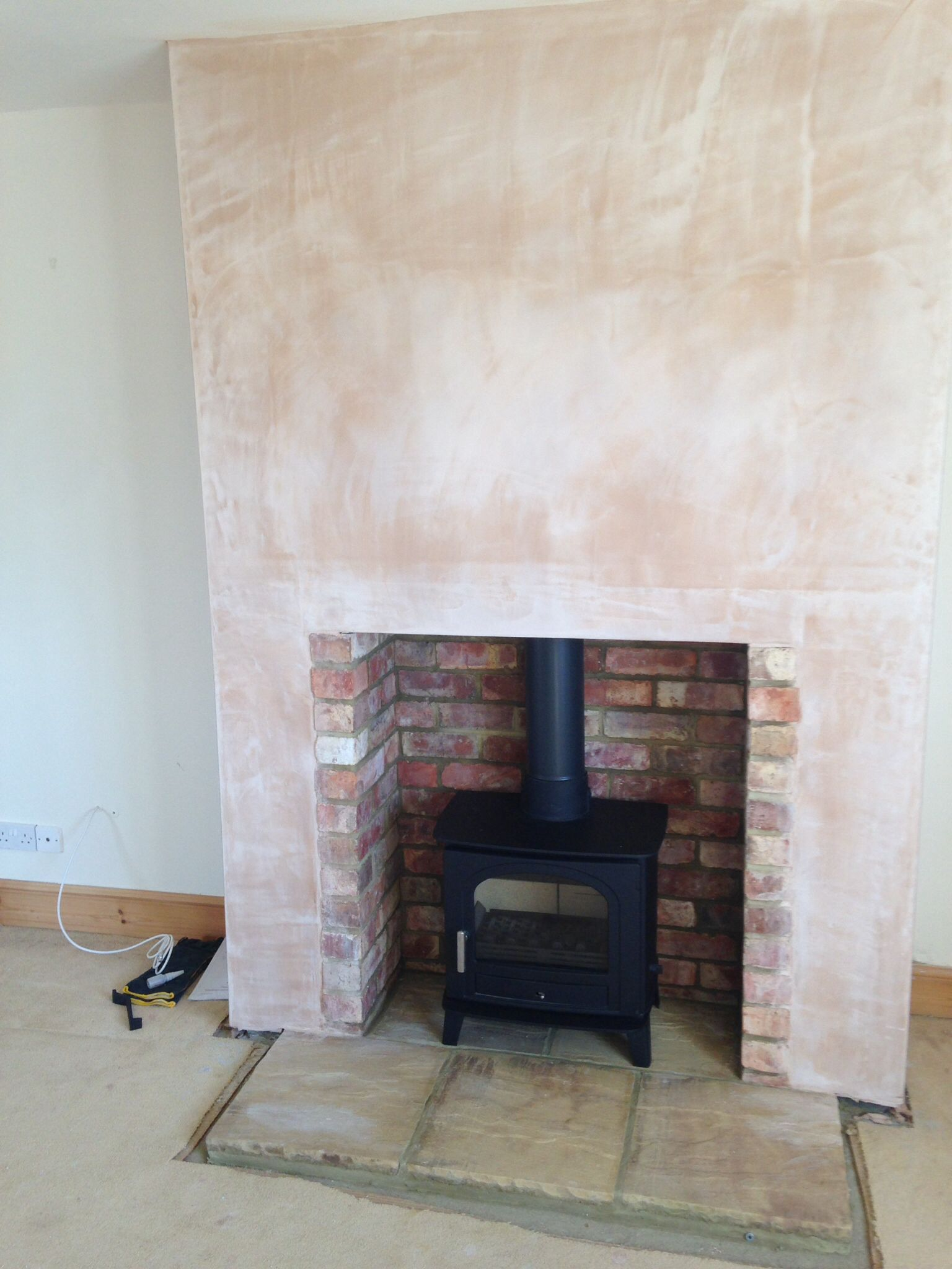 False chimney breast fireplaces at - Ideas to cover fireplace opening ...