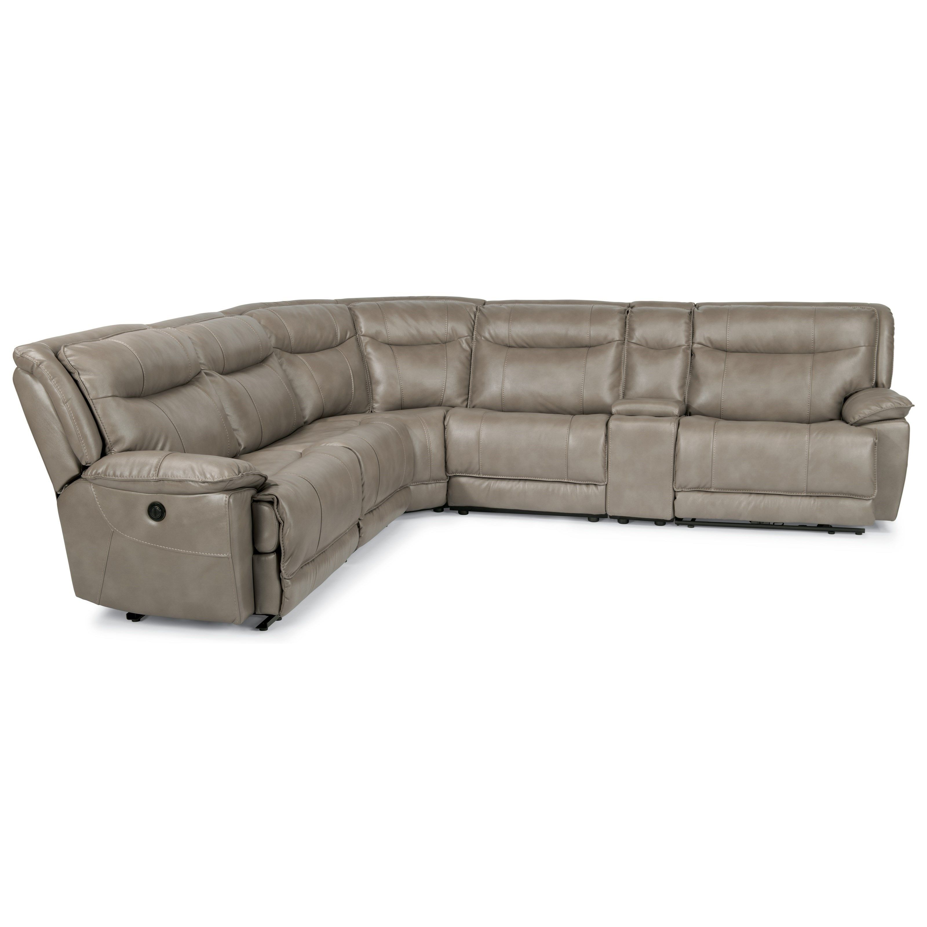 Tremendous Latitudes Bliss 6 Pc Reclining Sectional Sofa By Flexsteel Inzonedesignstudio Interior Chair Design Inzonedesignstudiocom