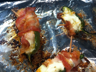BACON WRAPPED STUFFED JALAPEÑO BITES
