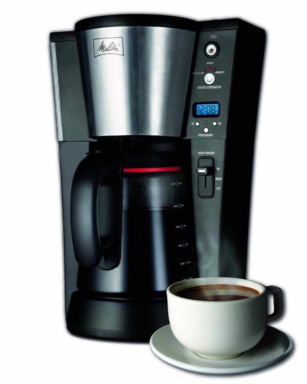 Melitta 12Cup Coffee Brewer melittacoffeemaker Melitta
