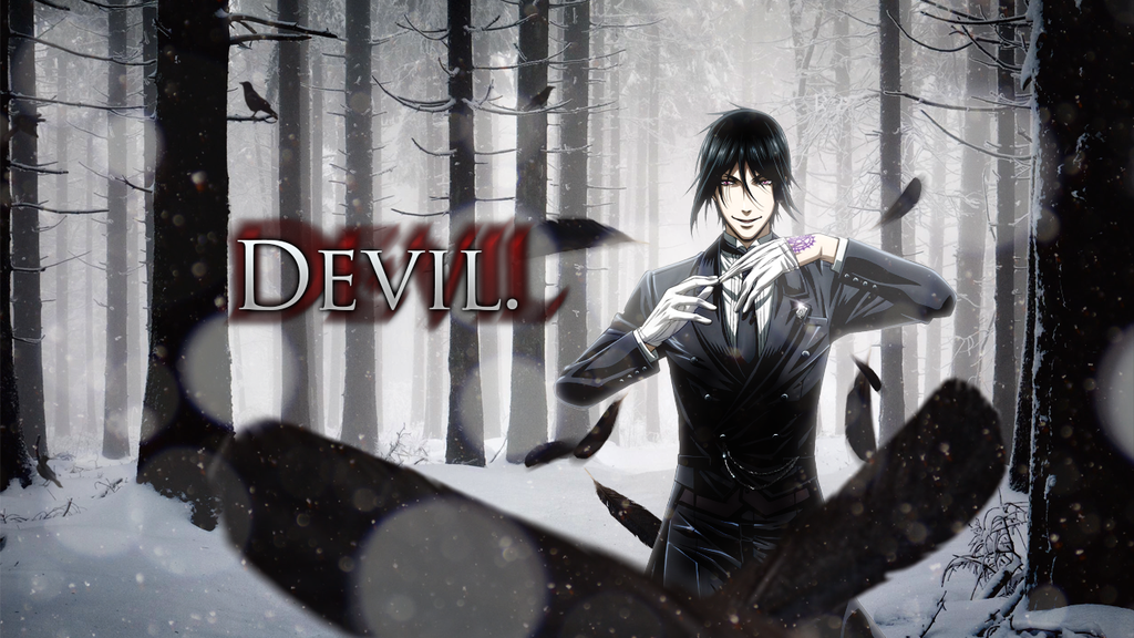 Black Butler Sebastian Wallpaper By DieVentusLady On DeviantART
