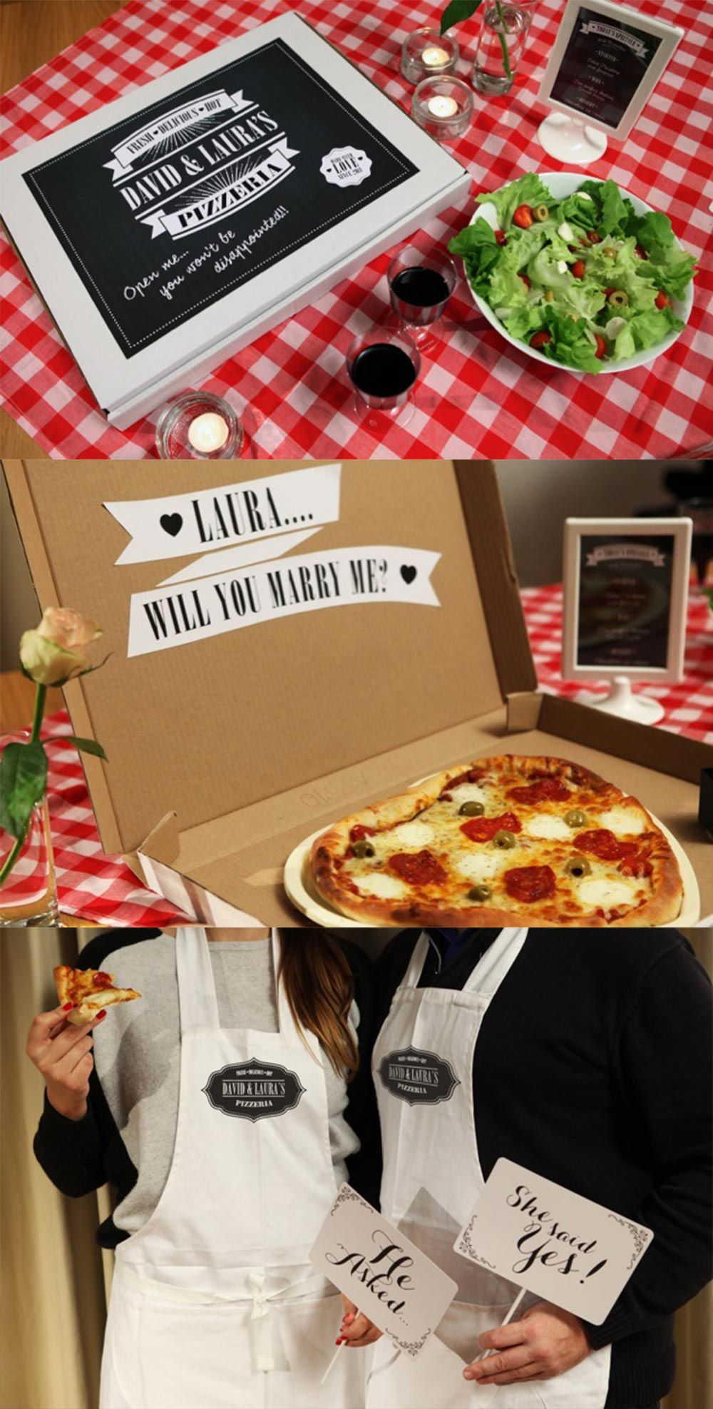 Pizza Box Proposal Idea