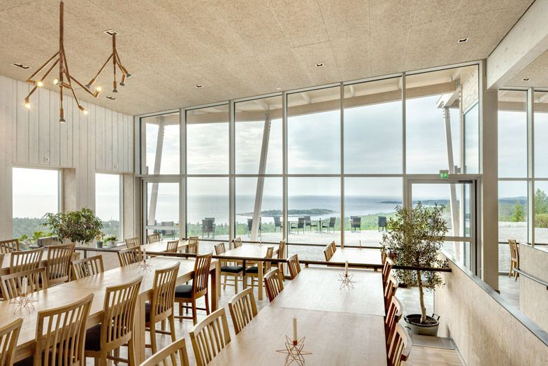 Sweco Architects builds restaurant at Hemsö Fortress, Sweden