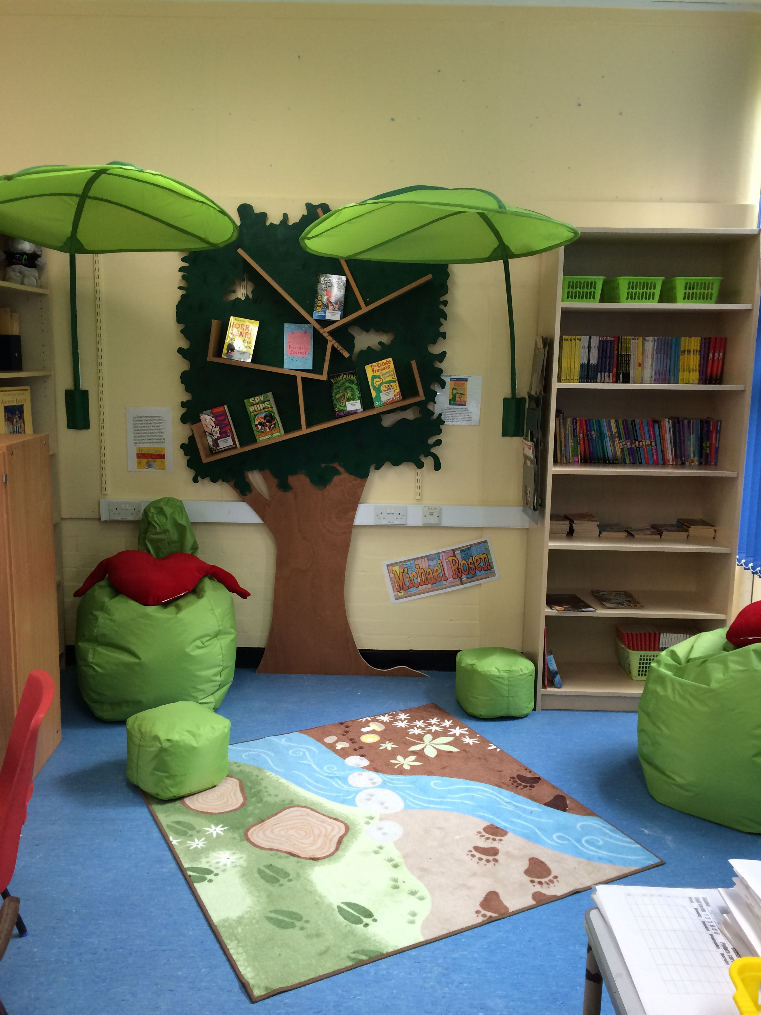 Year 5 Reading Area