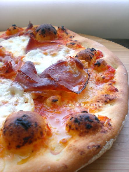 My Little Expat Kitchen The Pizza, Part One The Dough Yummy - California Pizza Kitchen Chicago